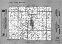 Index Map, Adair County 1991
